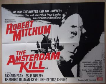 Movie Posters - The Amsterdam Kill | UK Quad Posters for sale